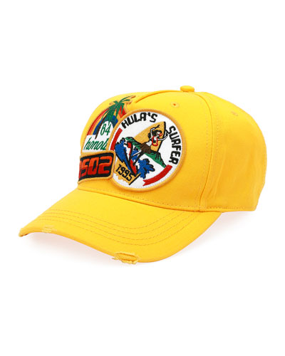 DSD2 Hula's Surfer Patched Baseball Cap