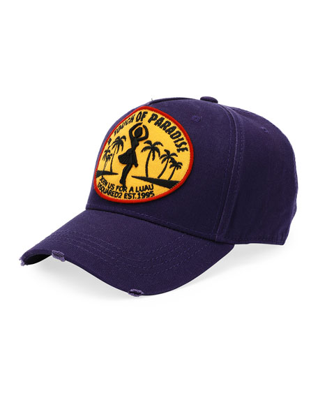 Touch of Paradise Patched Baseball Cap