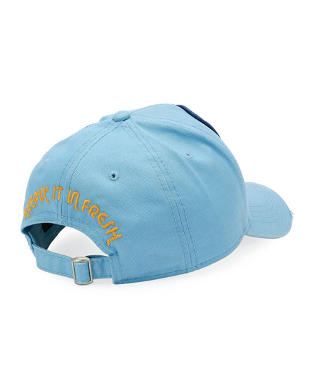 Tropical Patch Baseball Cap