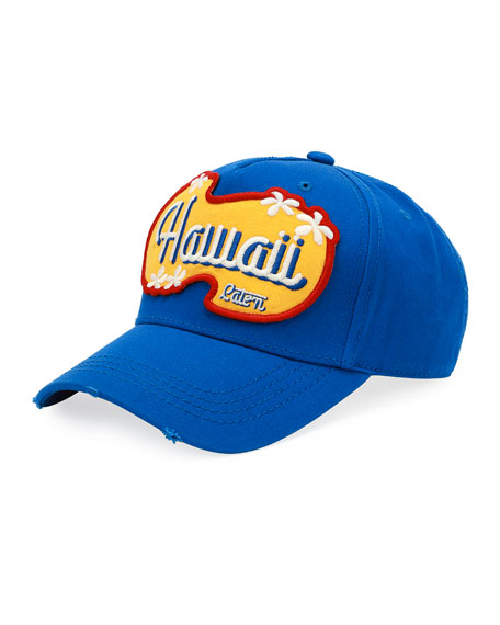 Hawaii Patch-Front Baseball Cap
