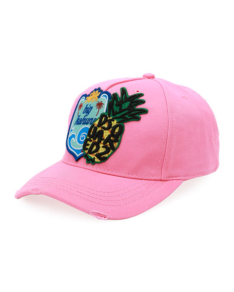 Dsquared2 Big Kahuna Cotton Baseball Cap