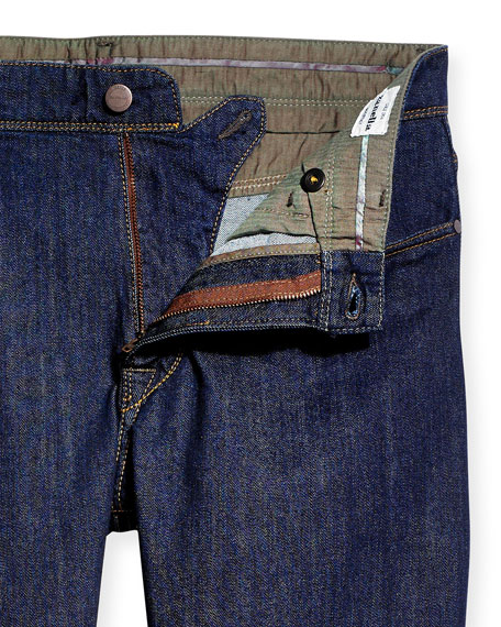 Zanella Martin Stretch-Cotton Pants