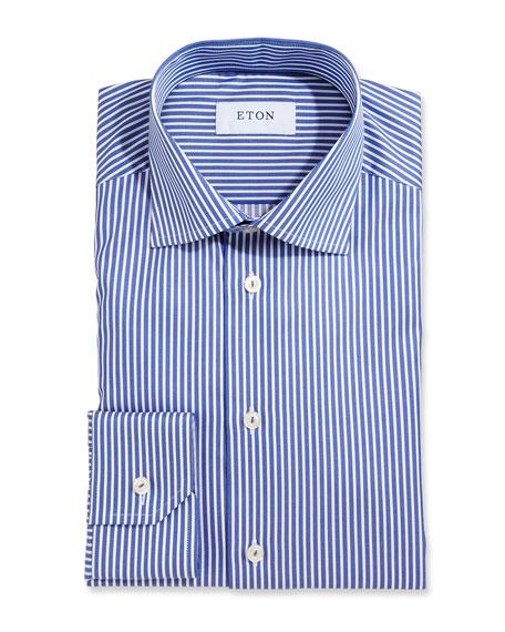 Bold Striped Dress Shirt