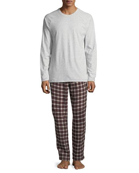 UGG Steiner Plaid Two-Piece Pajama Gift Set