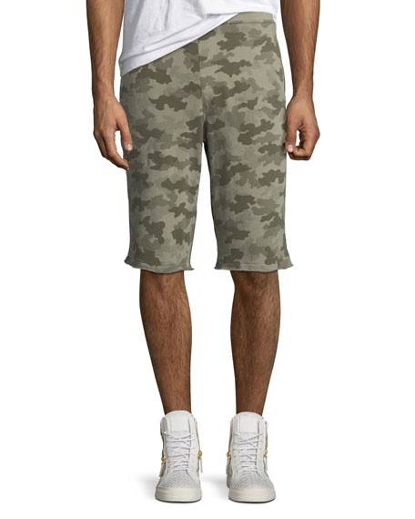 Camouflage French Terry Shorts