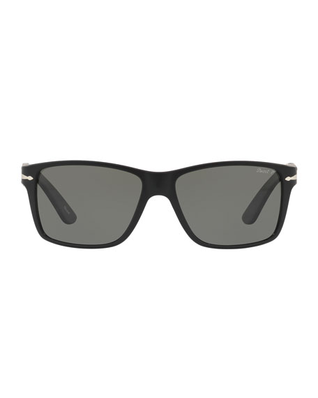 Persol Square Propionate Sunglasses