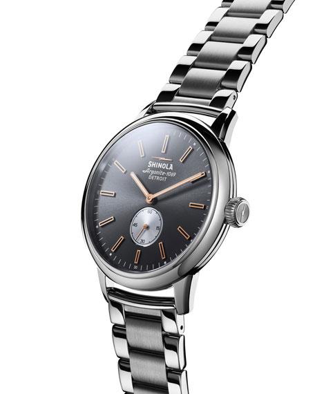 Men's 42mm Bedrock Sub Second Bracelet Watch