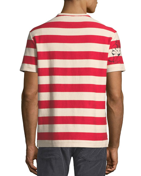 Fernbridge Striped Graphic T-Shirt