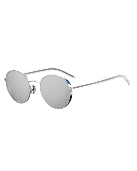 Dior Edgy Round Metal Sunglasses