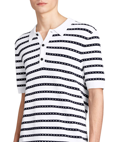 Kinsley Striped Polo Shirt