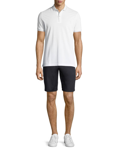Stanhope Straight-Leg Twill Chino Shorts