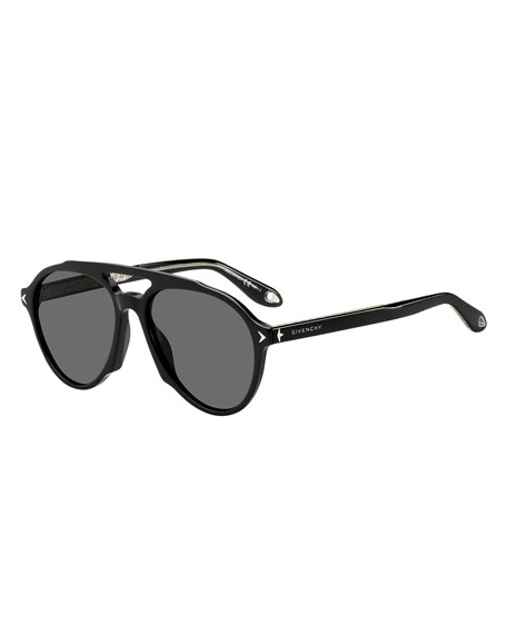 Givenchy Acetate Aviator Sunglasses
