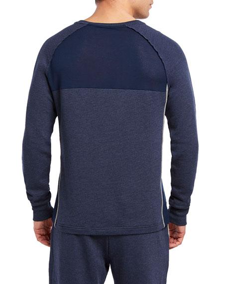 Sport Mesh Crewneck Sweatshirt