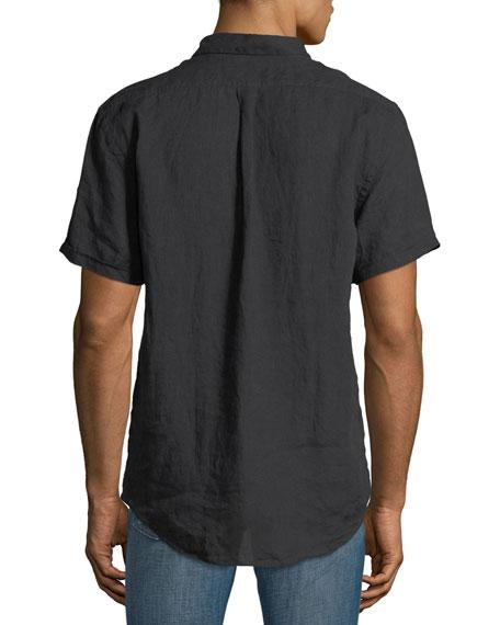 Graham Pocket Short-Sleeve Sport Shirt