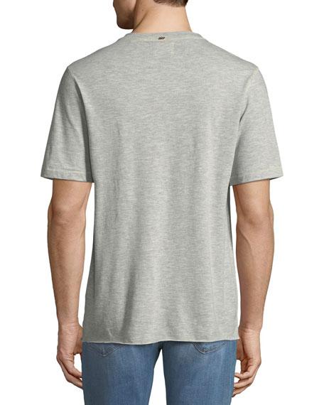 Hunter Short-Sleeve Henley Shirt