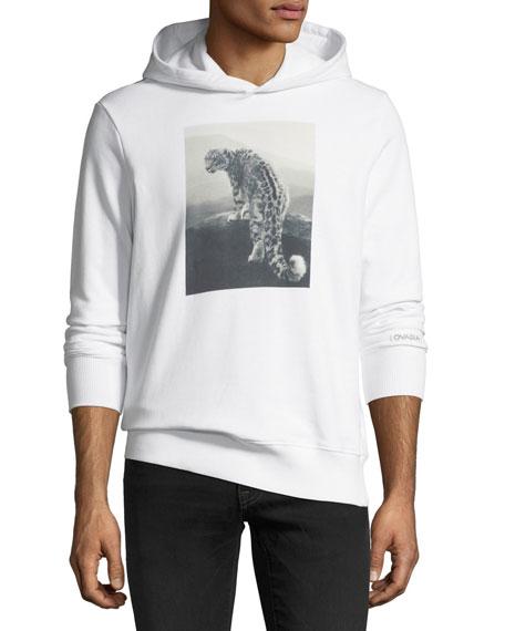 Snow Leopard Graphic Hoodie