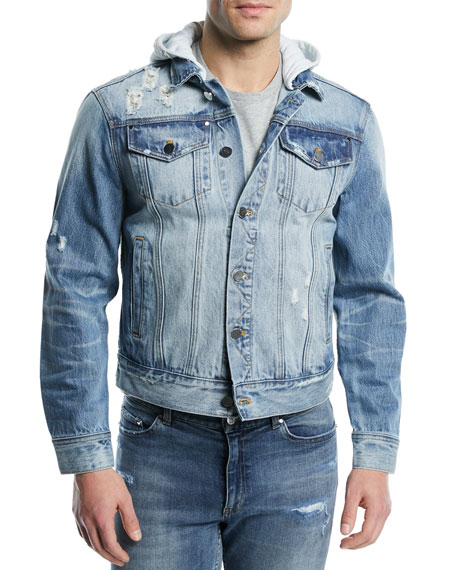 OS-2 Hooded Denim Jacket