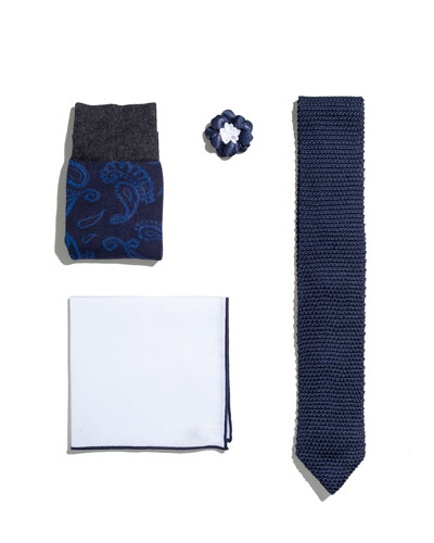 Shop the Look Suiting Accessories Set  Navy