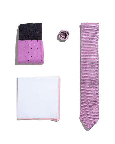 Shop the Look Suiting Accessories Set, Pink