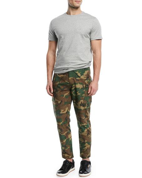 Storm Camouflage-Print Utility Pants