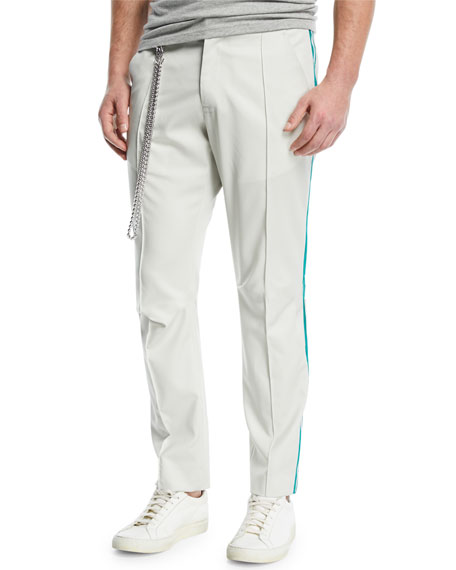 Ovadia & Sons Sideline Track Pants with Striped