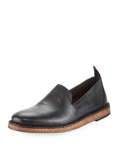 Zander Leather Slip-On Loafer