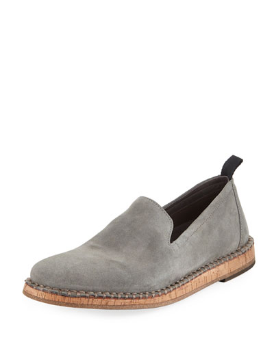 Zander Suede Slip-On Loafer