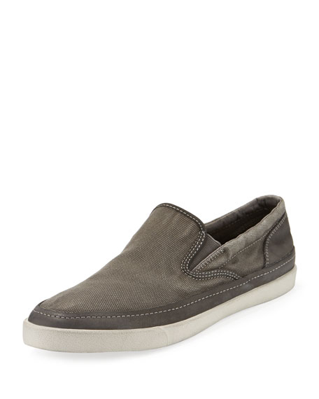 John Varvatos Jet Canvas Slip-On Sneakers