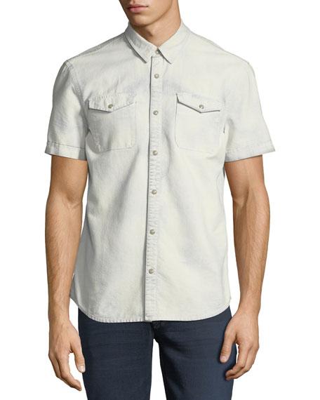 Western Cotton Short-Sleeve Shirt
