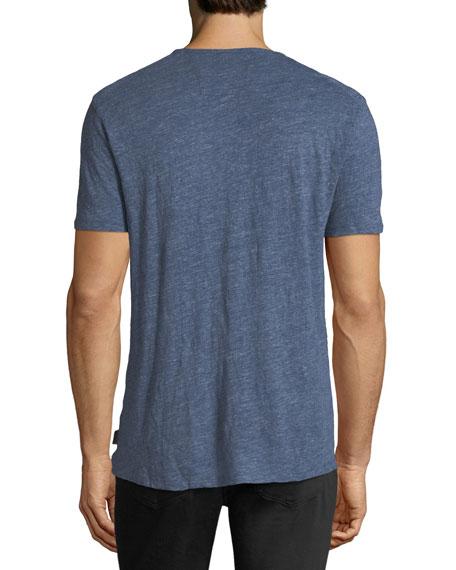 Star Graphic Linen T-Shirt