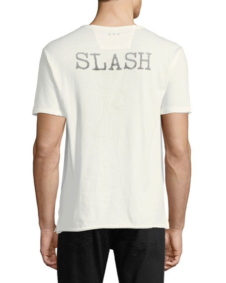 Slash Skeleton Graphic T-Shirt