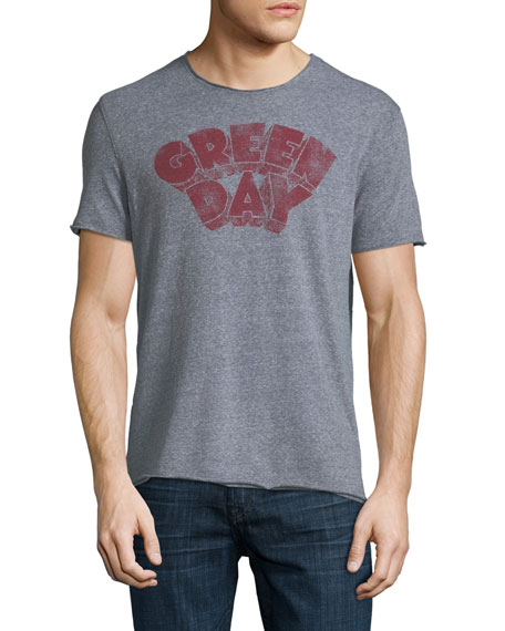 John Varvatos Star USA Green Day Graphic T-Shirt