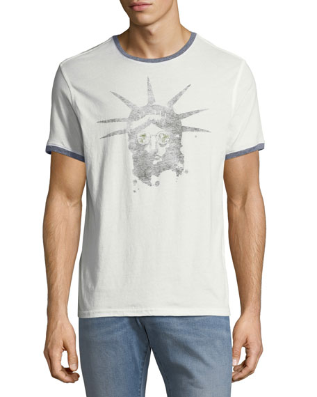 John Varvatos Star USA Liberty Shades Graphic T-Shirt
