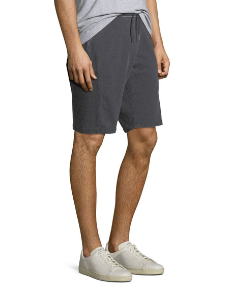 Burnout French Terry Cloth Shorts