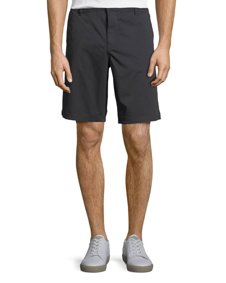 John Varvatos Star USA Linen-Blend Casual Shorts