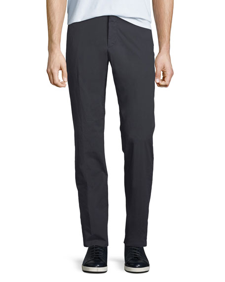 Ermenegildo Zegna Men's Cotton-Blend Straight-Leg Pants