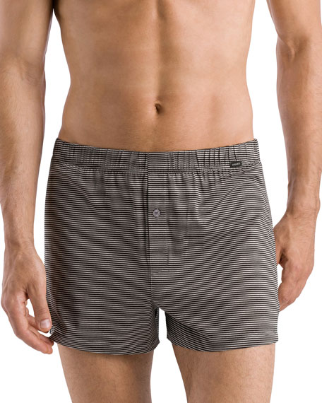 Hanro Sporty Striped Boxers