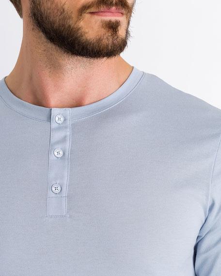 Night Day Short-Sleeve Henley Shirt