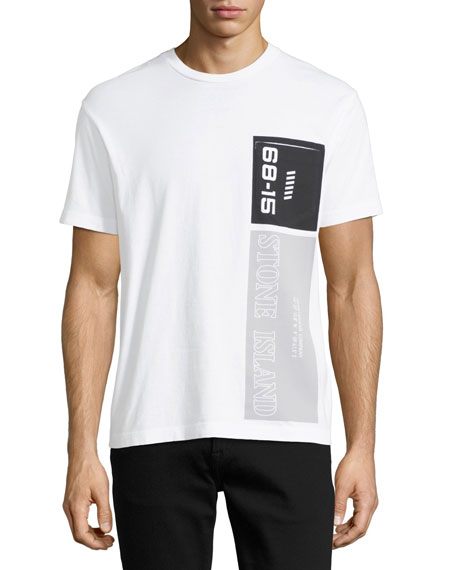 Stone Island Men's Logo Graphic Cotton T-Shirt