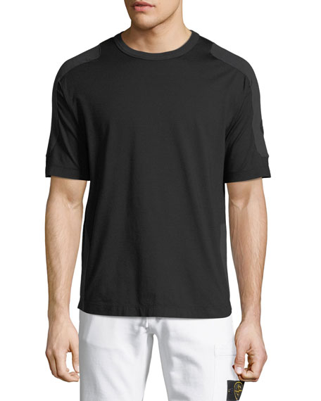 Men's Tonal-Trim Jersey T-Shirt