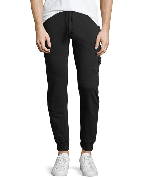 Cotton Fleece Jogger Pants