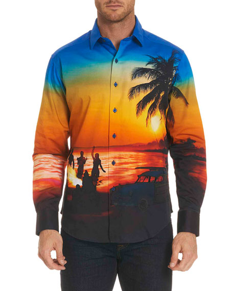 Sunset Chaser Photographic Sport Shirt