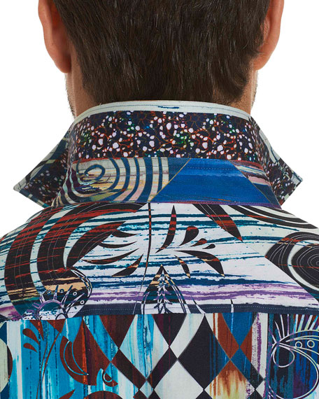 Borrego Graphic-Print Sport Shirt