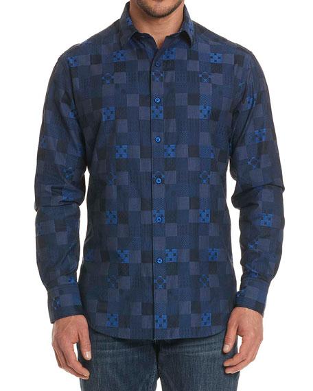 Concord Tonal-Check Sport Shirt