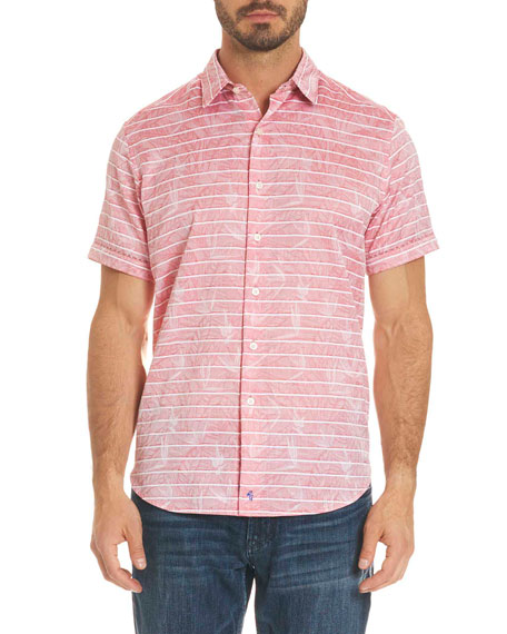Machado Striped Short-Sleeve Shirt