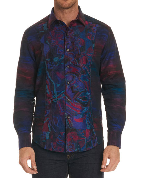Limited Edition Graphic-Print Sport Shirt