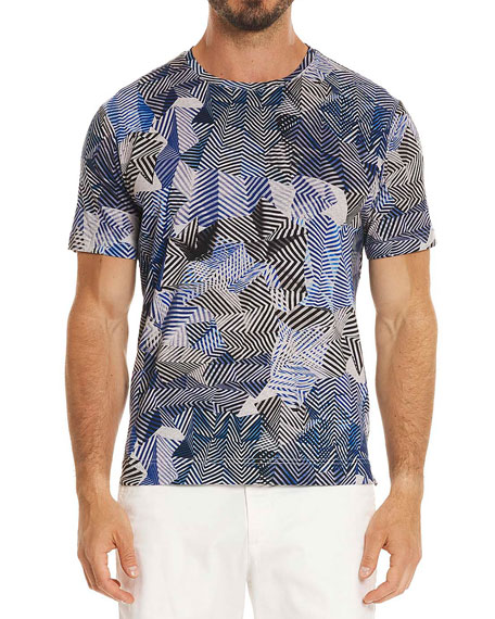 Prado Illusion-Print T-Shirt