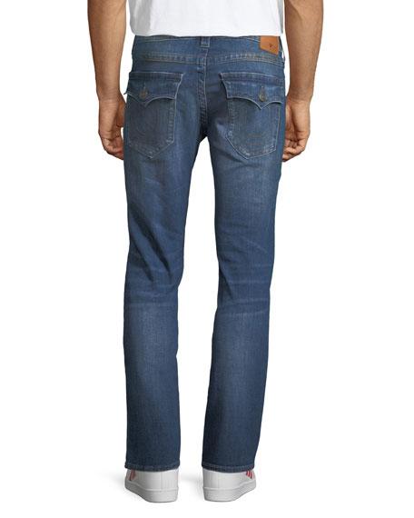 Ricky Flap-Pocket Straight-Fit Jeans