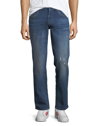 Ricky Flap-Pocket Straight-Fit Jeans