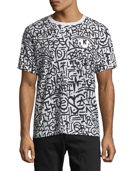 True Religion Graffiti Graphic T-Shirt